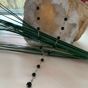 Samantha Black Onyx Necklace